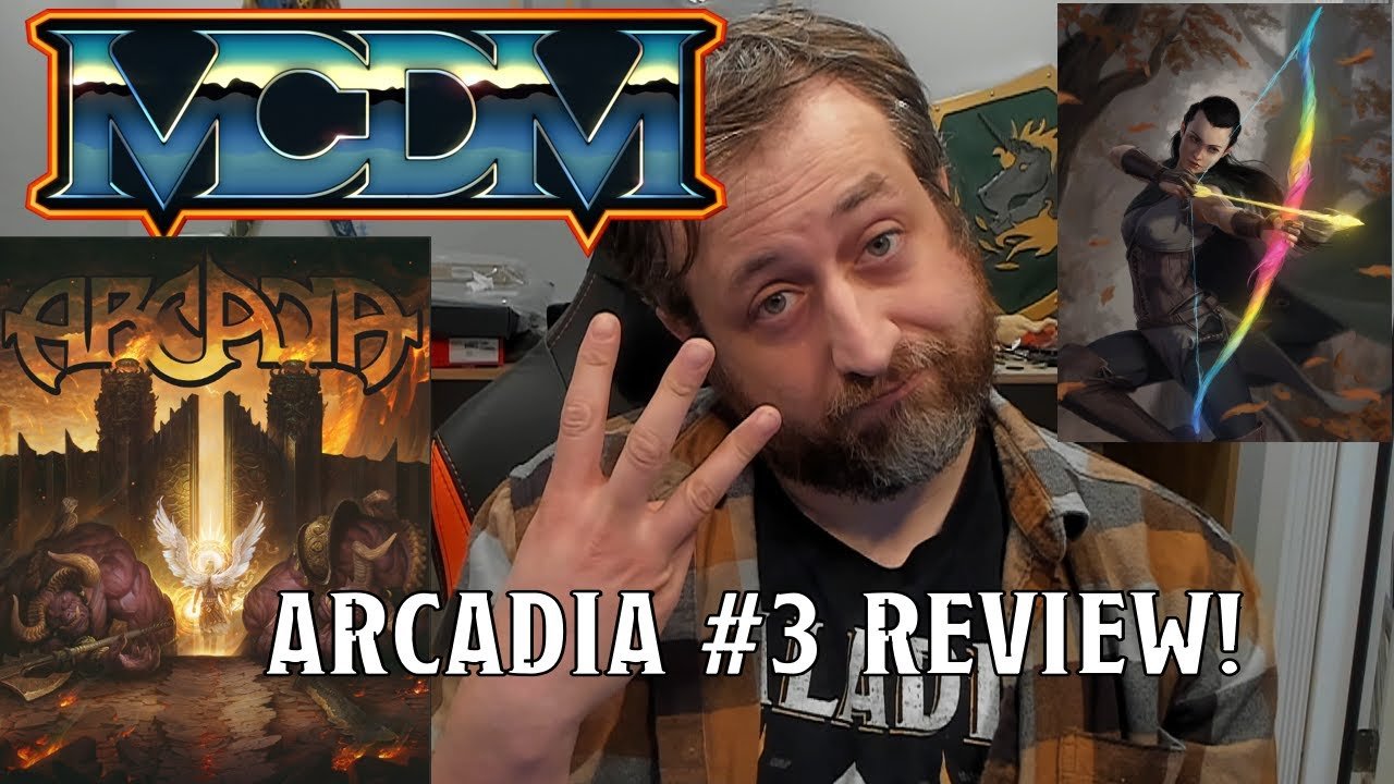 Arcadia #3 (MCDM) Review | Nerd Immersion
