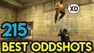 "CSGO - ""BHOPS ON ENEMY'S HEAD !"" - BEST ODDSHOTS #215 (+GIVEAWAY)"
