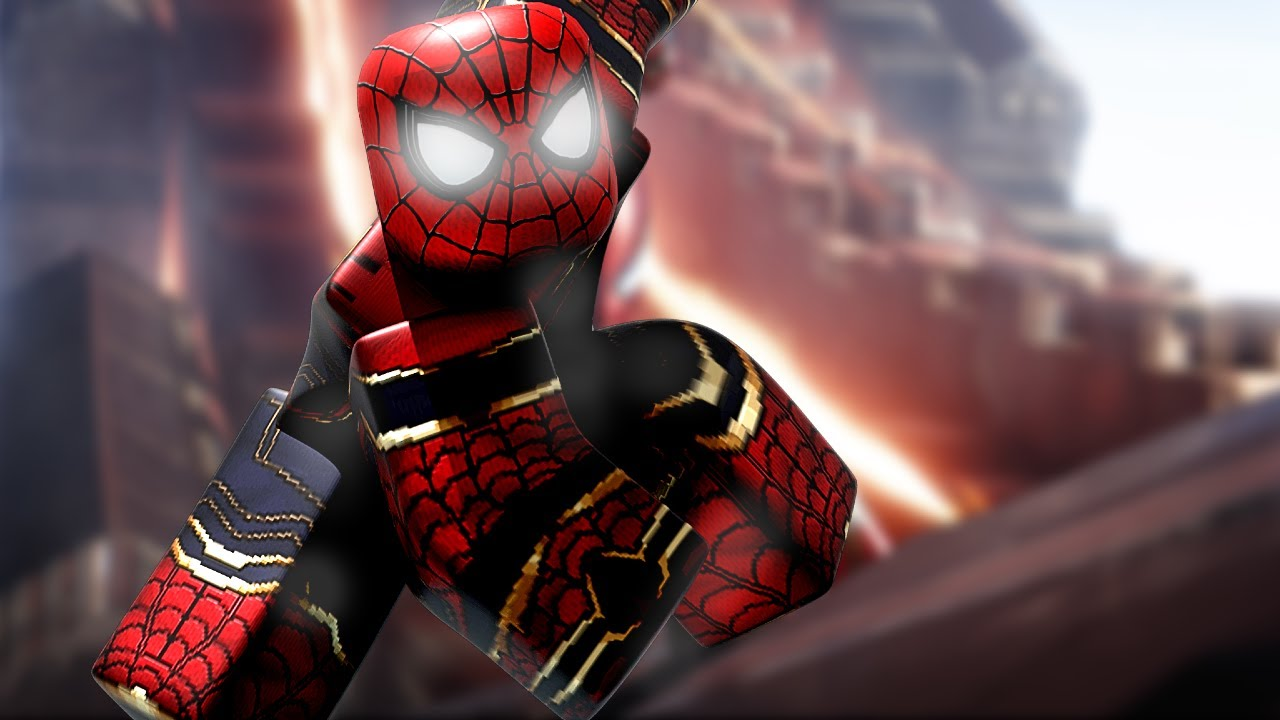 CREATING The IRON SPIDER In The Supers