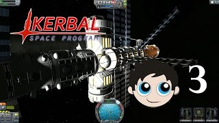Let's Play Kerbal Space Program Episode 3 Duna and Space Station