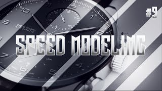 Speed Modeling #9 - IWC Portuguese Watch | C4D + Vray 3.4 + Photoshop CC