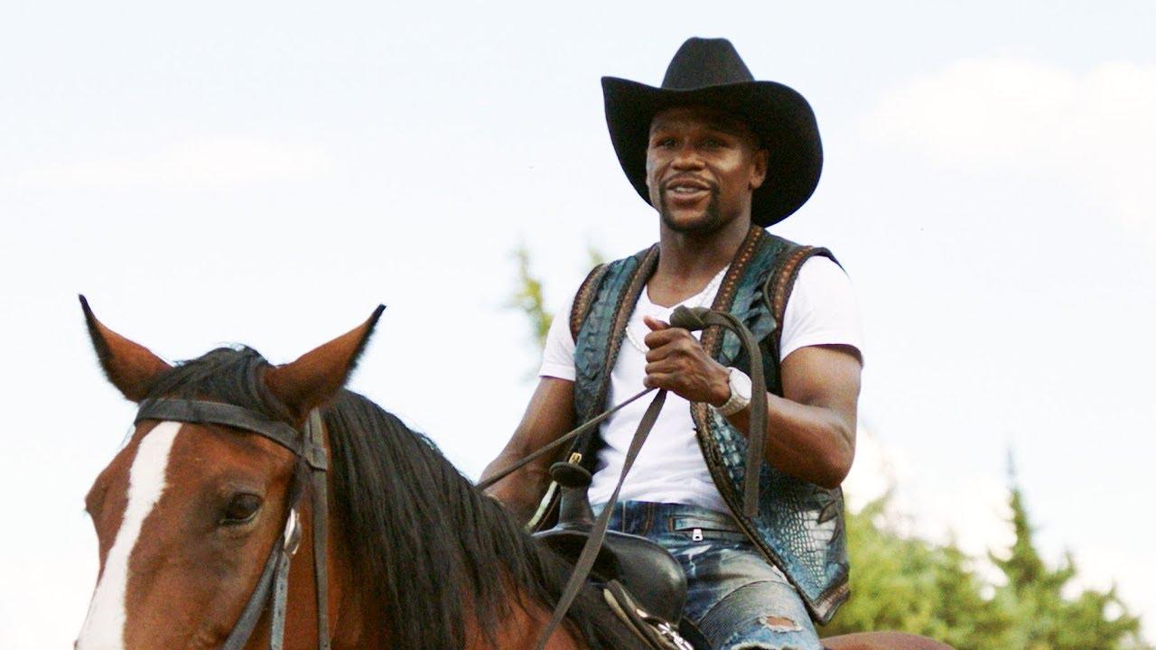 Mayweather, a cowboy