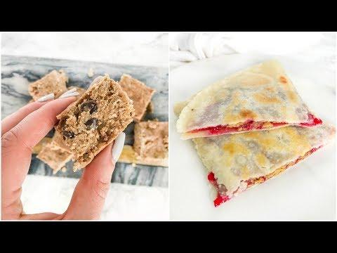 Easy To Make Healthy Snacks | vegan, paleo recipes