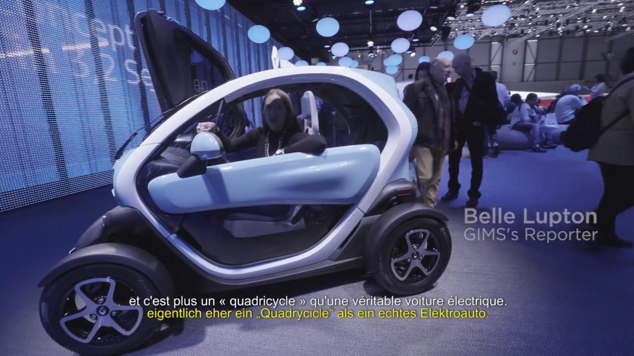 Would You An Electric Car Geneva International Motor Show 2017