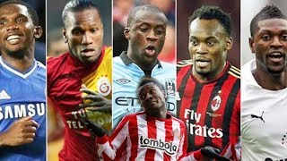TOP 10 RICHEST AFRICAN FOOTBALLERS OF ALL TIME - YouTube