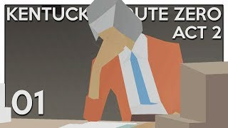 Let's Play Kentucky Route Zero [Interlude + Act 2] Part 1 -  Lula Chamberlain [Blind PC Gameplay]