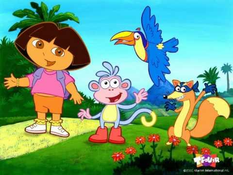 Dora exploratrice et babouche youtube - Dessin de dora et babouche ...