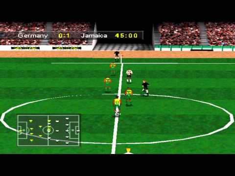 Olympic Soccer Gameplay Exhibition Match (PSX,PS)