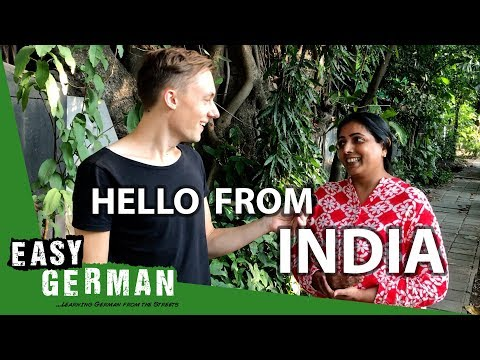 Tiếng Đức bài 32: Manuel nói lời chào từ Ấn Độ