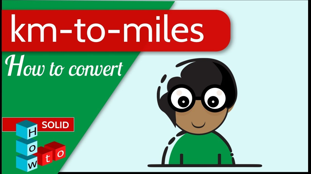 km to miles | how to convert - YouTube