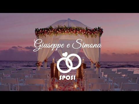 Giuseppe e Simona oggi sposi