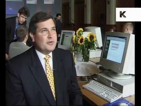 1998 UK Supermarket Launches Internet Shopping Site, Online Supermarket Shop, 1990s