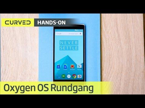 Oxygen OS für das OnePlus One im Video-Rundgang   deutsch