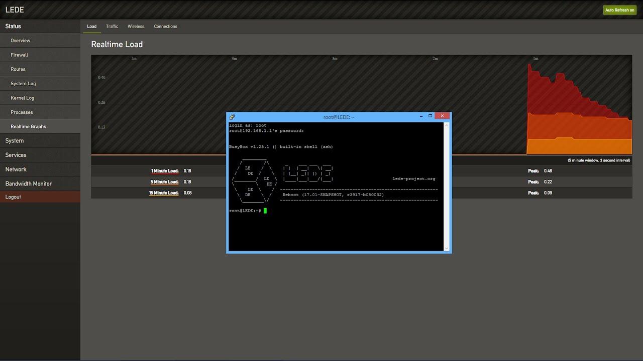 Installing LUCI OpenWRT or LEDE on Windows (TP-Link TL-WR1043N/ND v3)