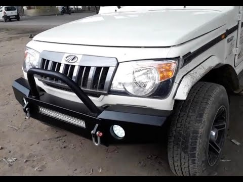 All New Mahindra Bolero Modified Bolero 4x4 offroad CAR CARE TIPS