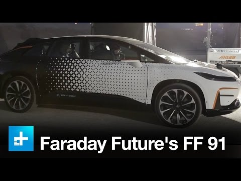 Thumbnail: Riding along in Faraday Future's FF 91 at CES 2017