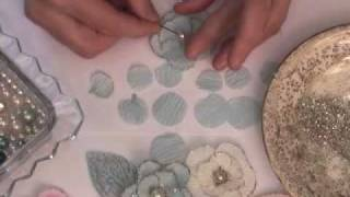 Paper Crafting Tutorial 2: Crepe Paper Flower