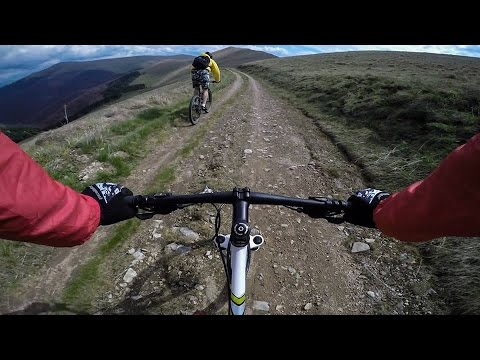 Downhill From The Top Of Southeastern Serbia, Besna Kobila(1923m), GoPro Hero 4