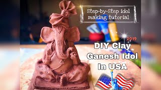How To Make Eco Friendly Ganesh From Clay |