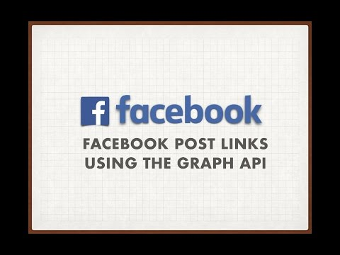 Facebook Post Links Using the Graph API - Facebook Post Status Using the  Graph API