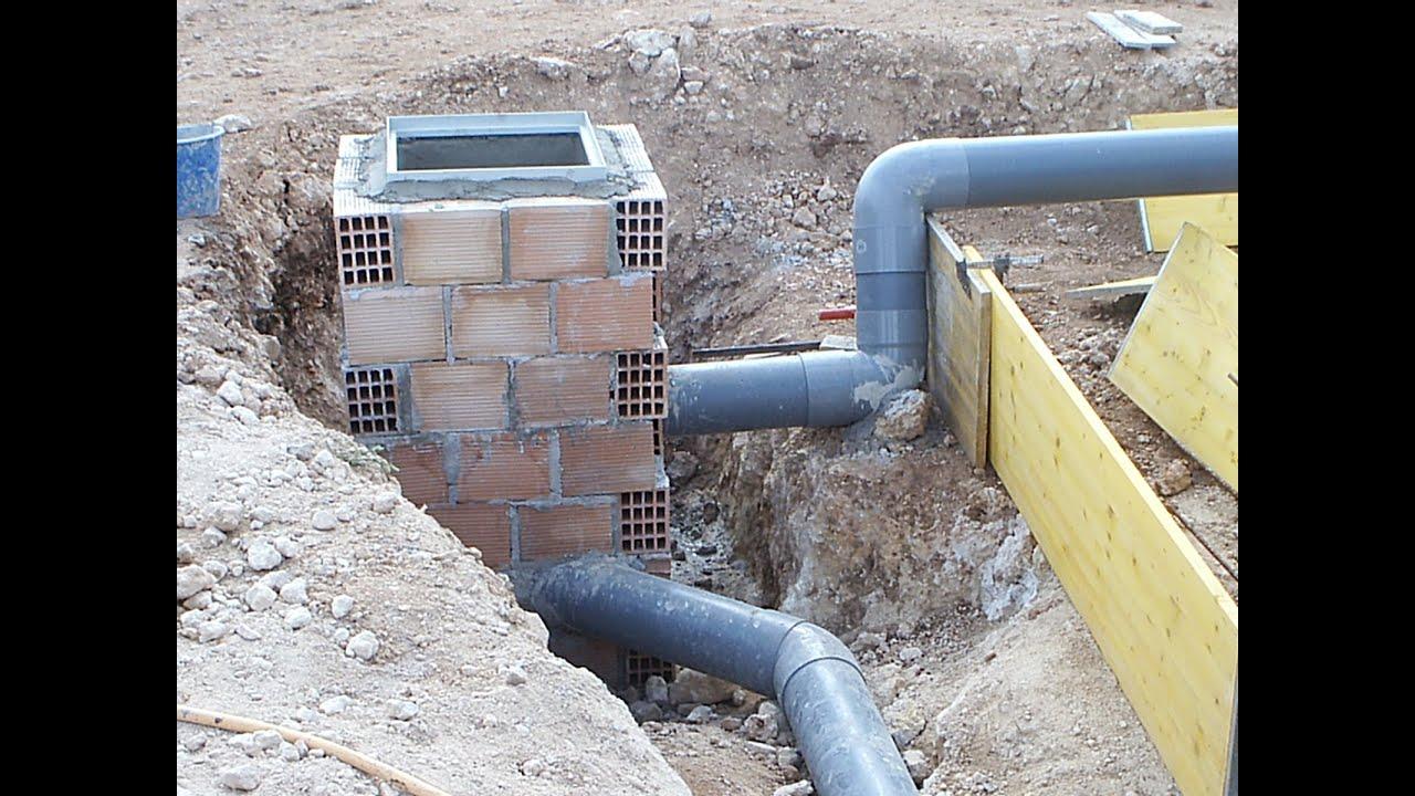 Arquetas y conductos construir una casa paso a paso sin Construir una pileta de ladrillos