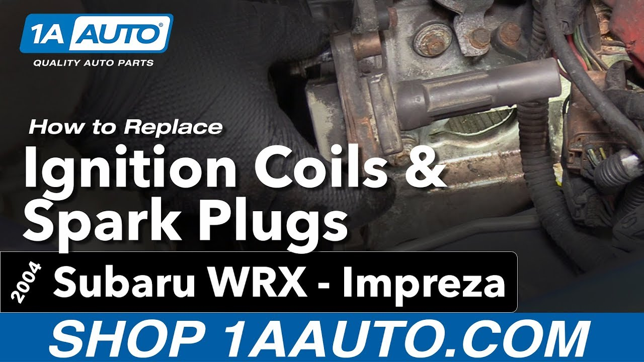 hight resolution of how to replace spark plugs and ignition coils 04 07 subaru impreza wrx