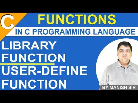 Functions in C | Library Function in C | C Programming Tutorial in Hindi thumbnail