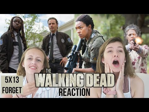 The Walking Dead - 5x13 Forget - Reaction