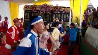 Pertunjukan seni budaya daerah Alat musik angklung Jawa Tengah  bagian 2