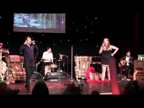 Joe McElderry & Ashley Russell duet  Fairytale of New York Matinee   Customs House