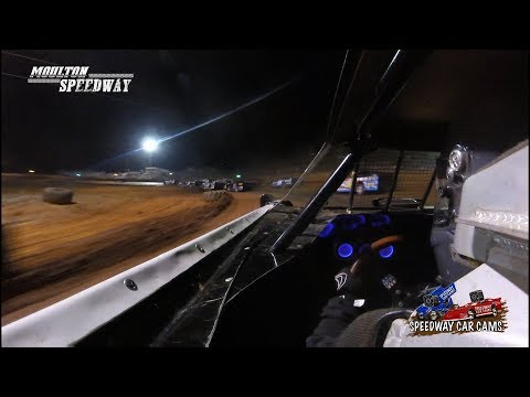 #1 Victoria Purcell - 602 - 3-17-18 Moulton Speedway - In Car Camera