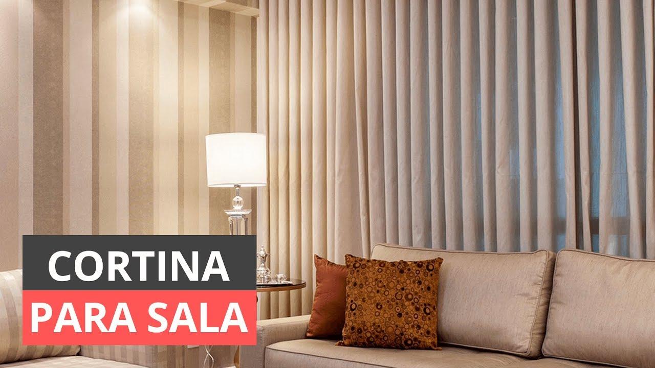 Cortinas para sala qual escolher e como decorar youtube - Buscar cortinas para salas ...