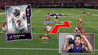 MICHAEL VICK IS UNSTOPPABLE!! MADDEN 20