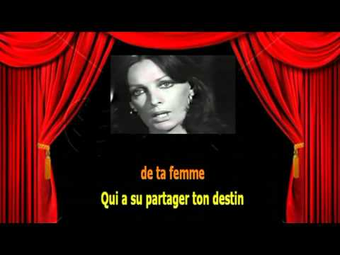 Karaoké Marie Laforêt  -  Viens viens