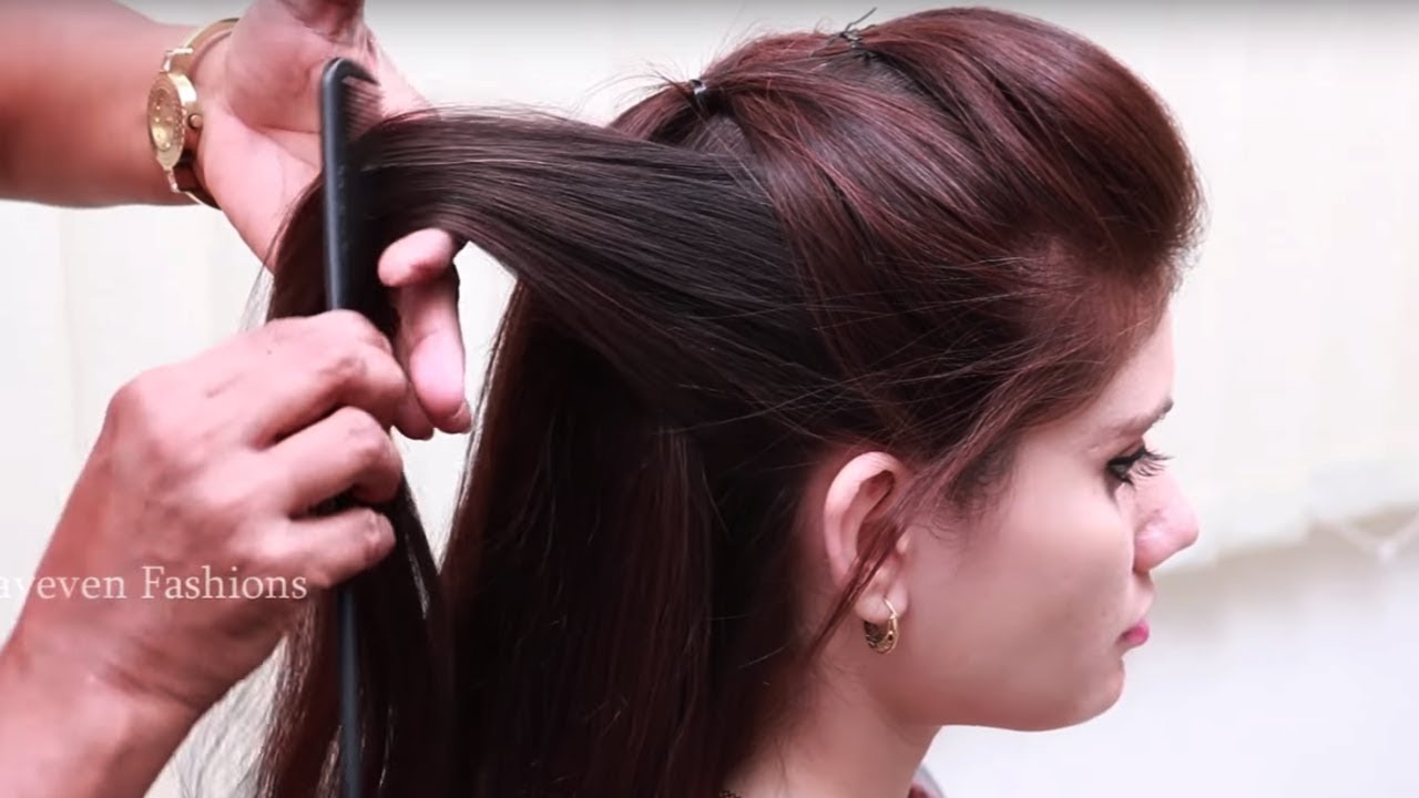 simple and easy beautiful hairstyle for long hair ★ hairstyle video tutorial ★ everyday hairstyles