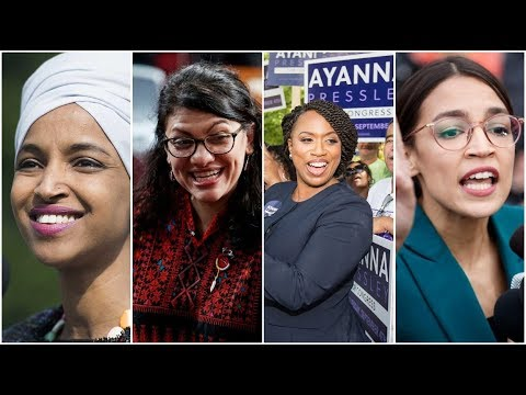President Trump Criticizes  Four  Progressive Democratic Congresswomen