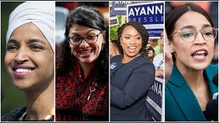 Conservative Twins President Trump Criticizes  Four  Progressive Democratic Congresswomen