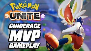 Pokémon Unite - Cinderace MVP Gameplay
