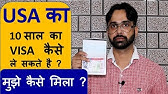 US Visa Interview Questions & Answers in Hindi (Visitor