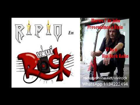 RIPIO en Vivi rock Radio - Buenos Aires