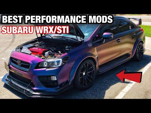 TOP 10 BEST PERFORMANCE MODS For a Subaru WRX/STI!