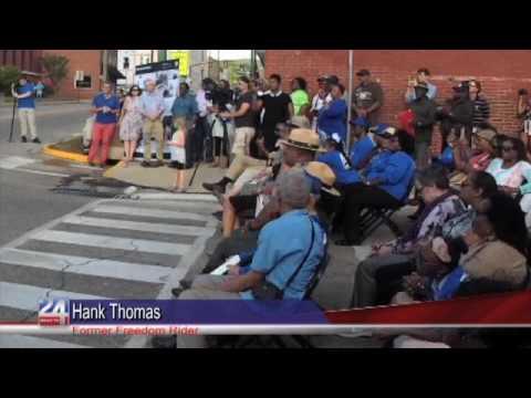 Freedom Riders Monument Ceremony