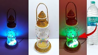 DIY -New Design Lantern/Tealight Holder from Waste plastic bottle | DIY Home Decorations Idea