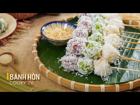 Bánh Hòn Ninh Thuận - Cách Làm Bánh Hòn Dẻo Mềm, Ăn Vặt Vừa Ngon Vừa An Toàn Cho Cả Nhà | Cooky TV