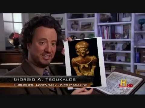 "Ancient Astronaut Theory explained by Giorgio A. Tsoukalous (""Ancient Aliens"" compilation)"