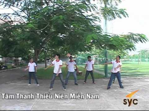 Dân vũ_Ngon lua trai tim_ Trung tâm Thanh thiếu niên miền Nam