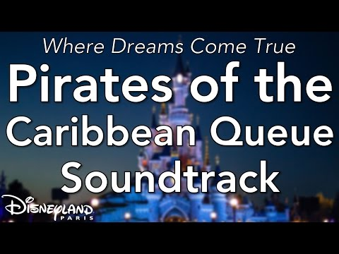 Disneyland Paris - Pirates of the Caribbean Queue Soundtrack