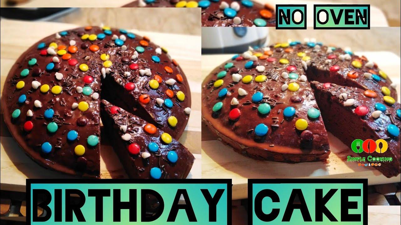 Easy Birthday Cake Recipe Youtube