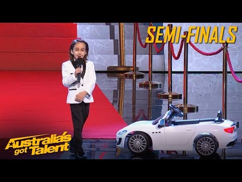 JJ is CUTENESS overload with his COMEDY Act | Semi Final | Australia's Got Talent 2019