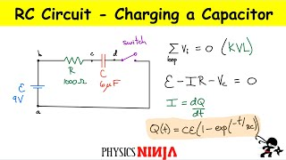 RC Circuit: Charging a capacitor